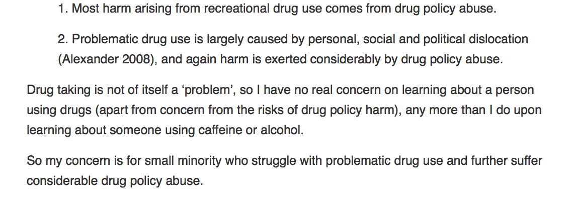 Vested Interest is the Driver of Prohibition « Drug Policy: Human
